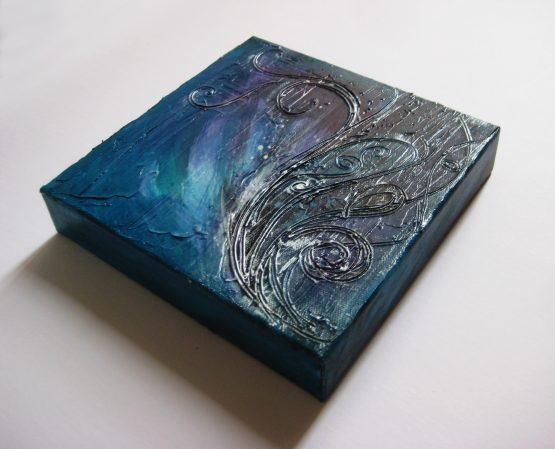 Sway - Original Abstract Textured Painting on Canvas