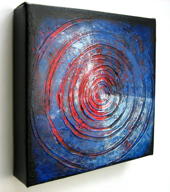 target - original textured acrylic painting