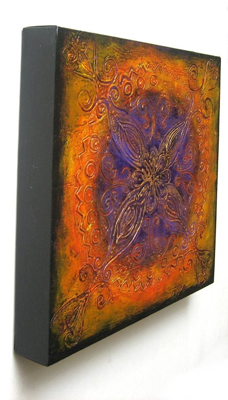 Romance - Original Abstract Textured Painting on Canvas