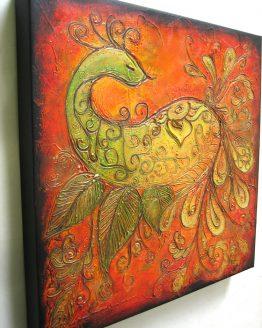 True Color - Acrylic Original Texture Painting on Canvas