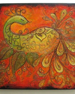 True Color - Acrylic Original Texture Painting on Canvas