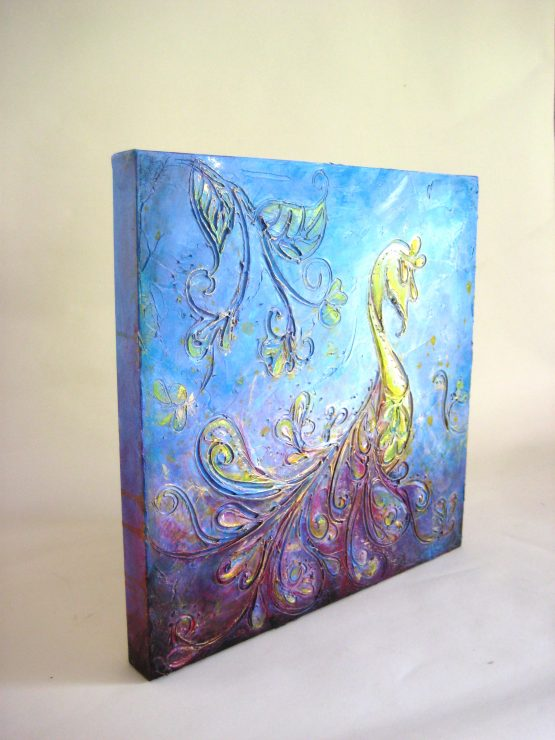 Grace - Original Abstract Textured Painting on Canvas