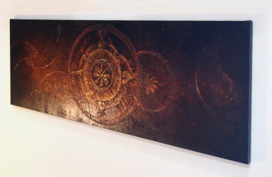 Universe - Large Acrylic Original Texture Painting on Canvas