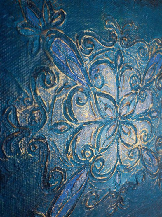 The Brightest Star Tonight - Texture Art