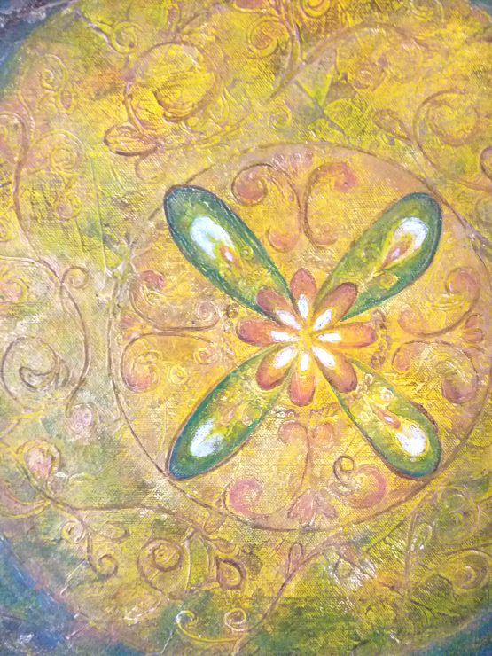 revolve - original asian painting